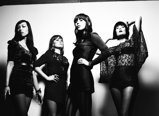 Dum Dum Girls Band Photo